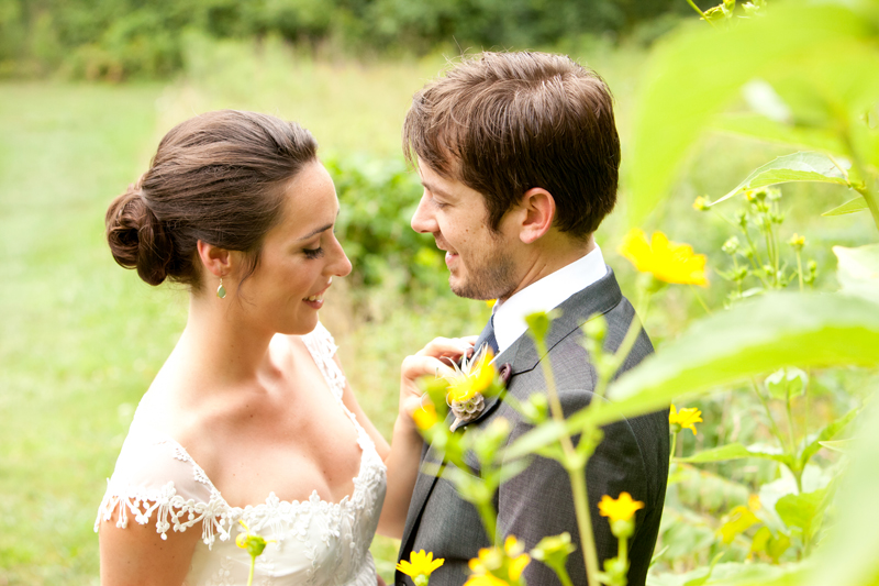 Amanda and Phil on a perfect day at John James Audubon Center