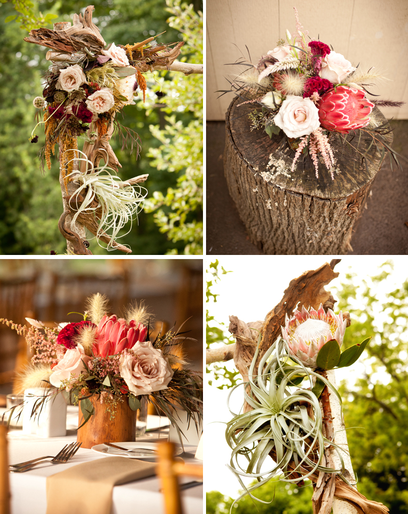 I was absolutely in love with the floral arrangements and bouquets by designer Sullivan Owen.